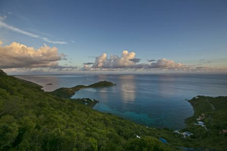 Stunning views from this St John villa